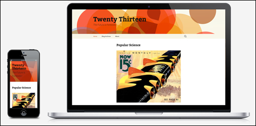 WordPress Update 3.6 - Twenty Thirteen